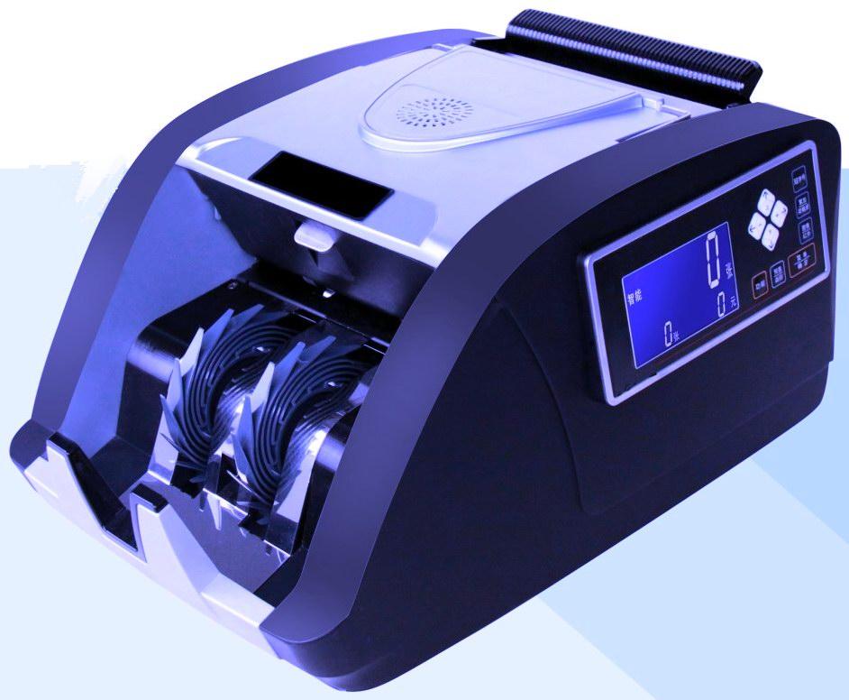 型号:JYBD-FY901(A)型 产品描述: 1、简介: 是目前国内抓假能力最强、运用鉴伪手段最多、识别能力最强的人民币点钞机之一,首次运用CIS图像技术作为人民币点钞机鉴伪及冠字号号码识别,有超强的数据管理能力,全面符合新国标GB16999-...